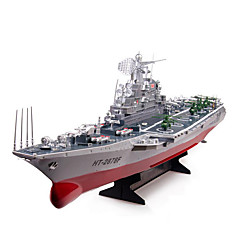 Warship HT 2878A 1:275 Battleship RC Boat Brushless Electric 2CH 6KM/H ABS Red / Gray
