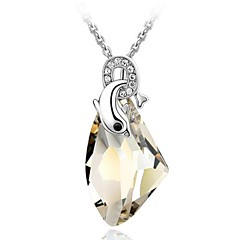 Thousands of colors Women's Alloy Necklace Daily Crystal-1-267