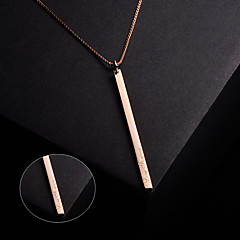 Men's / Unisex / Couples' / Women's Silver Necklace Engagement / Gift / Party / Daily / Causal Non Stone