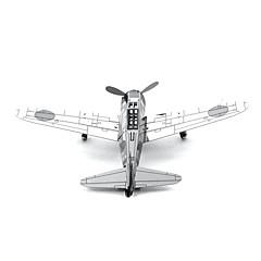 παζλ Παζλ 3D / Μεταλλικά παζλ Δομικά στοιχεία DIY παιχνίδια Μέταλλο Ροζ Μοντελισμός & Κατασκευές