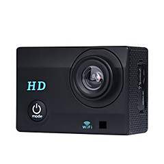 720P Sports Camera DV X1 Waterproof WiFi Convenient  120°Wide Angle USB(Assorted Colors)