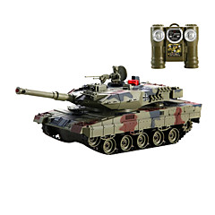 fjernkontroll tank modell bil, metall mot tanks (l) - leopard 2 sgainst tyske stridsvogner (l)