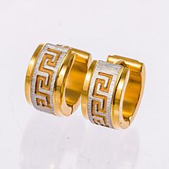 Heren Oorknopjes Ring oorbellen Kostuum juwelen Sieraden Voor Bruiloft Feest Dagelijks Causaal Kerstcadeaus