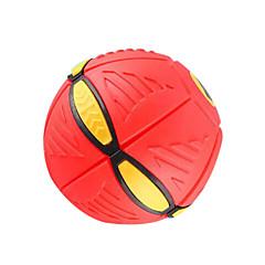 lysende ufo bolde, lufte deformation frisbee, børn gætte bolden udendørs legetøj