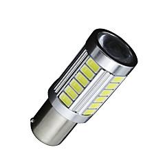 2x 1141 1156 BA15s auto LED žárovky 5730 33smd auto směrových světel / brzdového / zadní světlo
