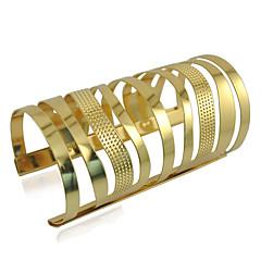 Manschett Armband Dam Icke sten Legering