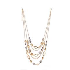 LGSP Women's Alloy Necklace Daily Rhinestone-61161032