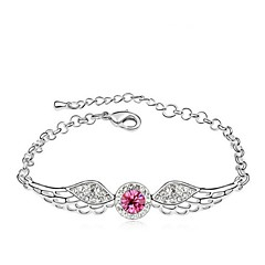 Thousands of colors Women's Tennis Bracelet Alloy Crystal-3-108