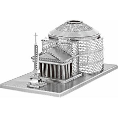 3D퍼즐 / 메탈 퍼즐 선물 조립식 블럭 모델 & 조립 장난감 유명한 건물 메탈 14 위 핑크 장난감