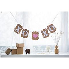 Karton Wedding Decorations-1piece / Set Lente Zomer Herfst Winter Niet-gepersonaliseerd