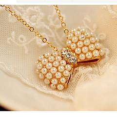 Жен. Ожерелье Свадьба / Подарок / Повседневные Сплав металлов Искусственный жемчуг