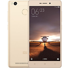 "XIAOMI Redmi 3S 5.0 "" MIUI 6 טלפון חכם 4G (SIM כפול Octa Core 13 MP 3GB + 32 GB מוזהב / כסף)"