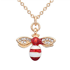 Lovely Little Bee Necklace Fashion Jewelry Accessories
