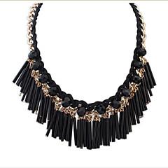 Stylish And Elegant Street Shooting Wild Tassel Necklace Jewelry