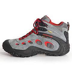 suoyue pánské pěší turistické boty jaro / léto / podzim / zima tlumení / odolné proti opotřebení obuvi šedé 43-44