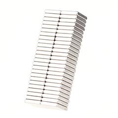 Παιχνίδια μαγνήτες 50 Κομμάτια MM Παιχνίδια μαγνήτες Τουβλάκια Σούπερ Ισχυρή σπανίων γαιών μαγνήτες Executive Παιχνίδια παζλ κύβοςγια