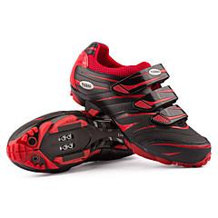 TIEBAO® 816A Tênis Sapatos para Ciclismo Tênis para Mountain Bike Homens Mulheres UnisexoAnti-Escorregar Almofadado Anti-desgaste Prova