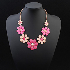 Flowers Blossoming Fashion Exquisite Necklace