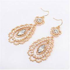 Small Pearl Earrings Elegant Petals