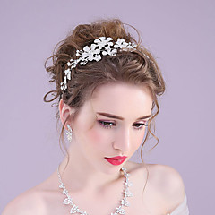 Rhinestone / Alloy Headpiece-Wedding / Special Occasion / Outdoor Headbands / Wreaths with More colors