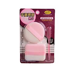 Applicatore per polvere/Spugnetta Spugne naturali 1 Rotonda 15cm Normale Bianco