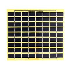 5w 18v pet laminierte polykristallinem Silizium Solarpanel Solarzelle für DIY (swb5018)