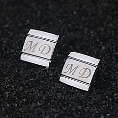 Gift Groomsman Personalized Classic Design Cufflinks