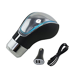 carro de toque da cor activada universal luzes led para marchas manípulo carro automático