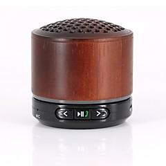 Bluetoot Wooden Speaker Wireless MP3 Music Playback Stereos Built-in FM Radio Handsfree Support TF Card