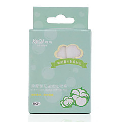 Keqi ® Soft Thick Clean Makeup or Remove Cotton Pads 100 Piece