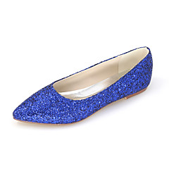 Women's Shoes Glitter Spring / Summer / Fall Pointed Toe Flats Wedding / Party & Evening / Dress