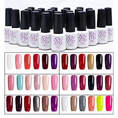 Esmalte de Uñas Gel UV 7 6 Brillante / Esmalte Gel UV de Color / Goma Empapa de Larga Duración
