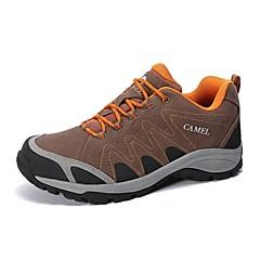Tênis de Caminhada Homens Anti-Escorregar Almofadado Anti-desgaste Respirável Vestível Ao ar Livre Cordões Cano Baixo CamurçaEquitação