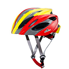 Unisex Sports Bike helmet 18 Vents Cycling Cycling / Skate One Size PC / EPS Red / Light Blue