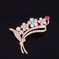 One piece/Rose Gold Fashionable Brooches