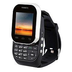 Kenxinda® W1 GSM Watch Phone SC6531 Single Core 1.44Inch 32MB RAM 0.8MP Dual SIM Card