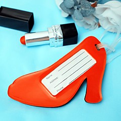 1pcs Red High Heel Shoes Shaped Luggage Tag Travel Tag Bridal Shower Beter Gifts®Life Style