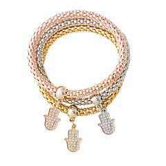Charm Bracelets 1set,Fashionable Others Golden / Silver / Rose Gold Alloy Jewelry Gifts