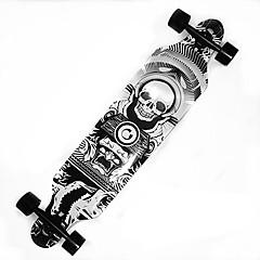 41 Inch Longboards Skateboard Ammattilaisten Vaahtera ABEC-9-Vihreä Sininen Musta ja valkoinen Oranssi/Musta Harmaa Musta Eagle Pääkallot