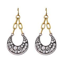 ペンダントネックレス ファッション 高級ジュエリー 欧風 純銀製 模造ダイヤモンド ジュエリー MOON シルバー ジュエリー のために 日常 カジュアル 1ペア