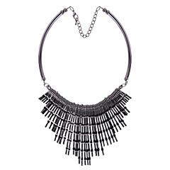 Modische Halsketten Anhängerketten Schmuck Party Modisch Aleación Schwarz 1 Stück Geschenk
