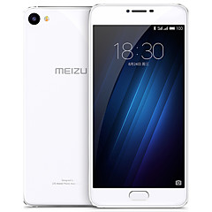 meizu® u20 5.5 bag glas FlyMe os 4g smartphone (dual sim octa core 13 mp 2GB 16 gb sølv)