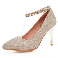 Women's Heels Spring / Summer / Fall / Winter Heels / Basic Pump / Comfort  / Pointed ToeSyntheticMaterialsUpperOccasion