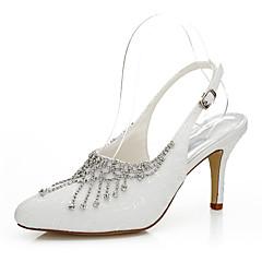 Women's Heels Spring / Summer / Fall Heels Silk Wedding / Party & Evening / Dress Stiletto Heel Chain Ivory Others