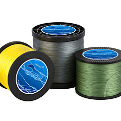 100M / 110 Yards / 300M / 330 Yards / 500M / 550 Yards Polyethylenový vlasec / DyneemaZelená / Bílá / Žlutá / Šedá / Červená / Modrá /