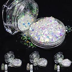 one bottles Nail Art Decoration tekojalokivi Pearls meikki Kosmeettiset Nail Art Design