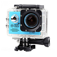 Lightdow LD6000 1080P HD Sports Action Camera Bundle with NT96655 Chip 2.0 LCD 170 Wide Angle Lens and Bonus Battery