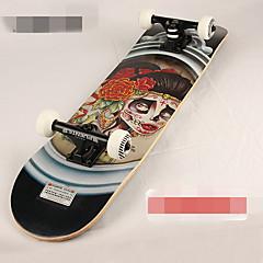Aleación Unisex Standard-Skateboards Schwarz Gelb Rot Grün Blau