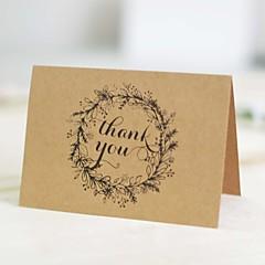 Não personalizado Dobrados Convites de casamentoCartões para o Dia das Mães / Convites para Chá de Bebê / Convites para Chá de Casada /
