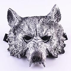 Halloweenské masky / Masky maškarní vlk Head Potřeby na svátky Halloween 1PCS